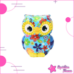 Squishy Hibou multicolore - Animaux - Squishies France