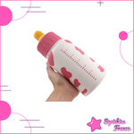 Jumbo Squishy pink baby bottle - XXL - Squishies France