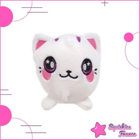 Plushie chat blanc -  - Squishies France