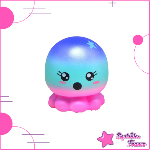 Squishy Poulpe Galaxie - Animaux, Galaxie, Kawaii - Squishies France