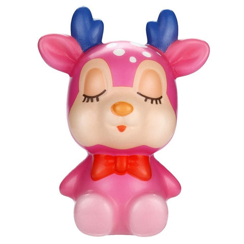 Squishy renne rose - Animaux - Squishies France