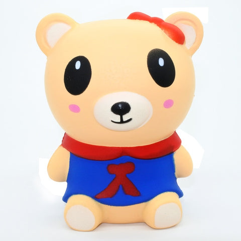 Squishy ourson kawaii fille - Animaux, Kawaii - Squishies France