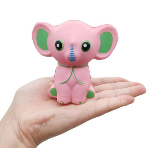 Squishy Éléphant Rose - Animaux - Squishies France