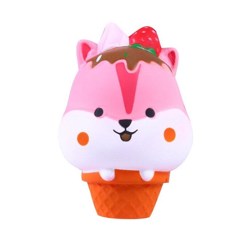 Squishy glace hamster - Animaux, Nourriture - Squishies France