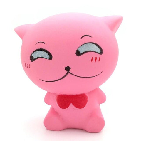 Squishy chaton timide - Animaux - Squishies France