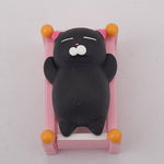 Mini Squishy chat noir - Animaux - Squishies France