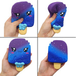 Squishy Glace Galaxie Kawaii - Galaxie, Kawaii, Nourriture - Squishies France