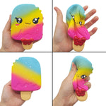 Squishy Glace Arc-en-ciel Kawaii - Arc-en-ciel, Kawaii, Nourriture - Squishies France