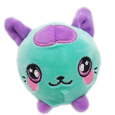 Plushie chat mauve - Squishies France