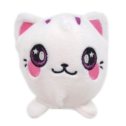 Plushie chat blanc - Squishies France