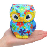 Squishy Gufo multicolore - Animali - Squishies Francia