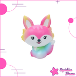 Squishy Rainbow fox - Animals, Rainbow - Squishies France