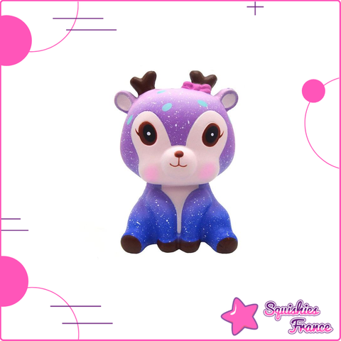 Squishy Renne Galaxie - Animaux, Galaxie, Pas cher - Squishies France
