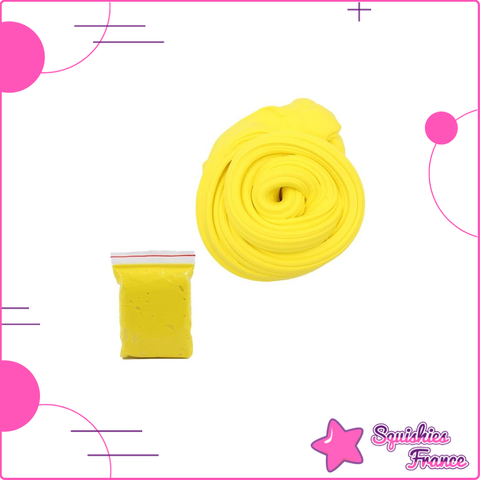 Slime jaune -  - Squishies France