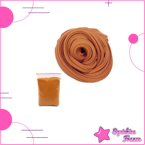 Slime marron -  - Squishies France