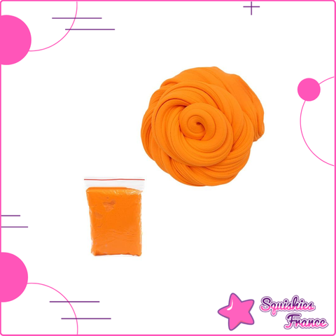 Slime orange -  - Squishies France