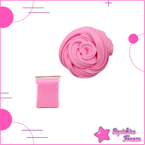 Slime rose -  - Squishies France