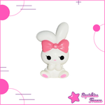 Squishy Lapin Rose - Animaux, Pas cher - Squishies France