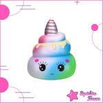 Squishy Rainbow Unicorn Poop - Rainbow, Kawaii, Unicorn - Squishies France
