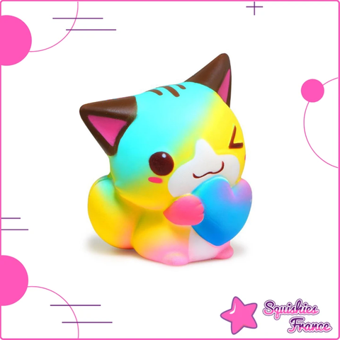 Squishy chat arc en ciel - Animaux, Arc-en-ciel - Squishies France