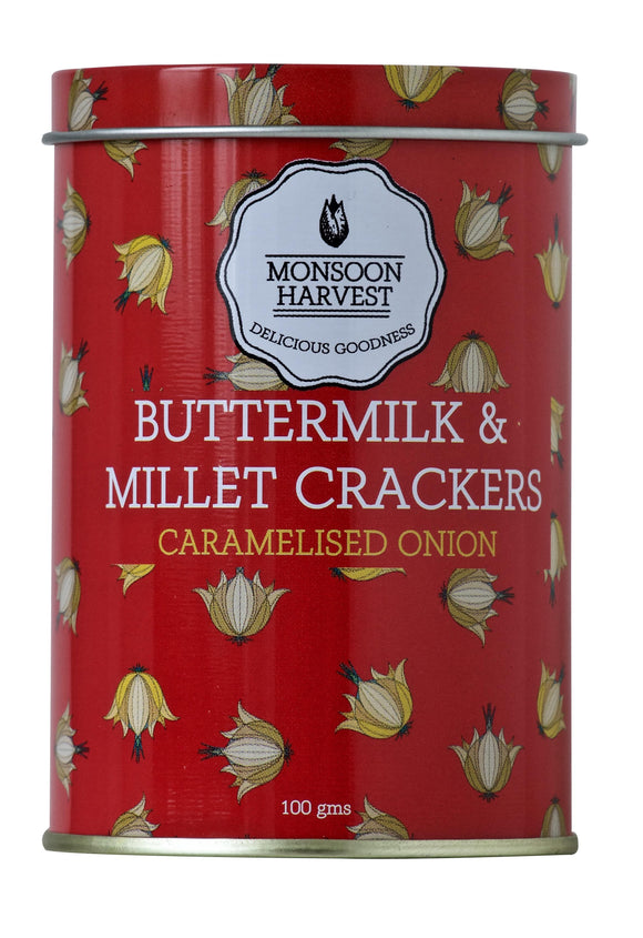 Buttermilk Millet Crackers