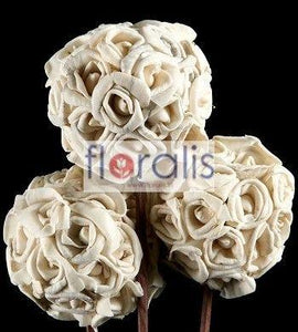 Sola Rose Ball 6cms, 8cms, 10cms - Pack of 10 Pcs