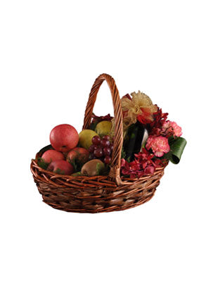 Fresh Fruit Basket Combo
