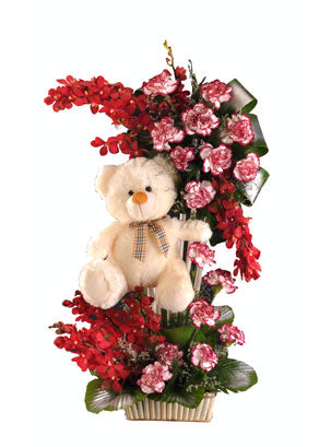 Flower Teddy Grand Combo