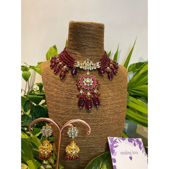 Myanka Necklace Set