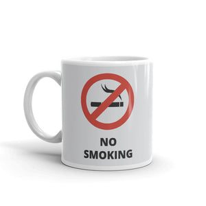 No Smoking Coffee Mugs 350 ml