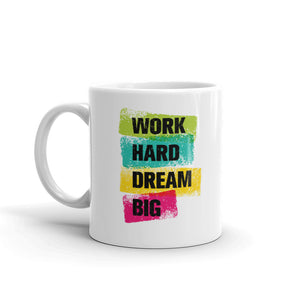 Work Hard Coffee Mugs 350 ml