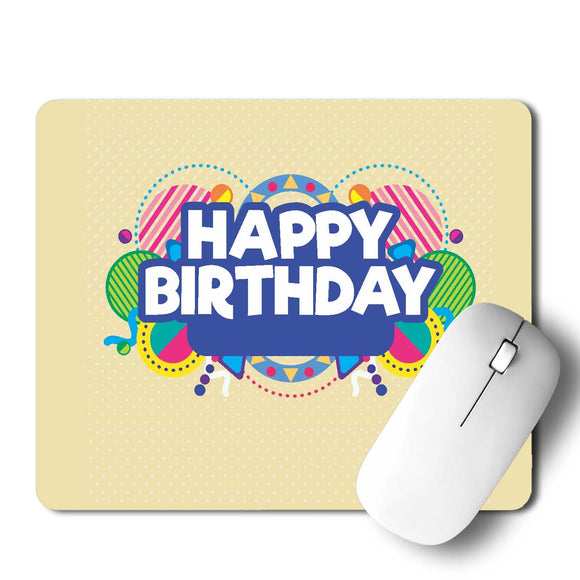 Happy Birthday  Mouse Pad