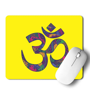 Om Doodle  Mouse Pad