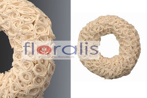 Sola Rose Wreath 32Cms