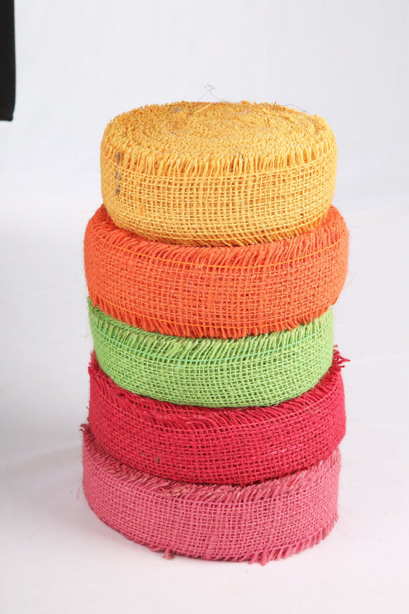 Jute Ribbon 5cms*25mtr (Pack of 5)