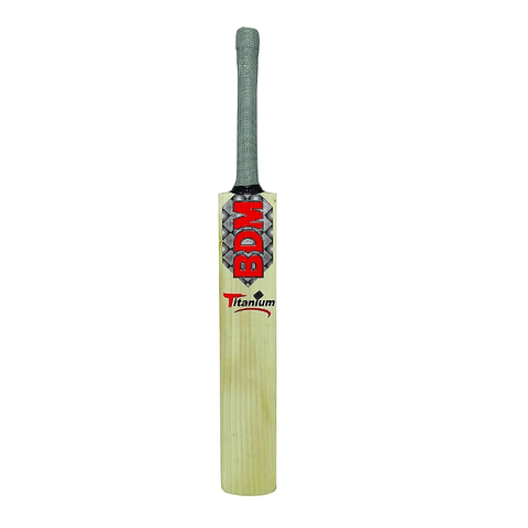 BDM Titanium English Willow Cricket Bat