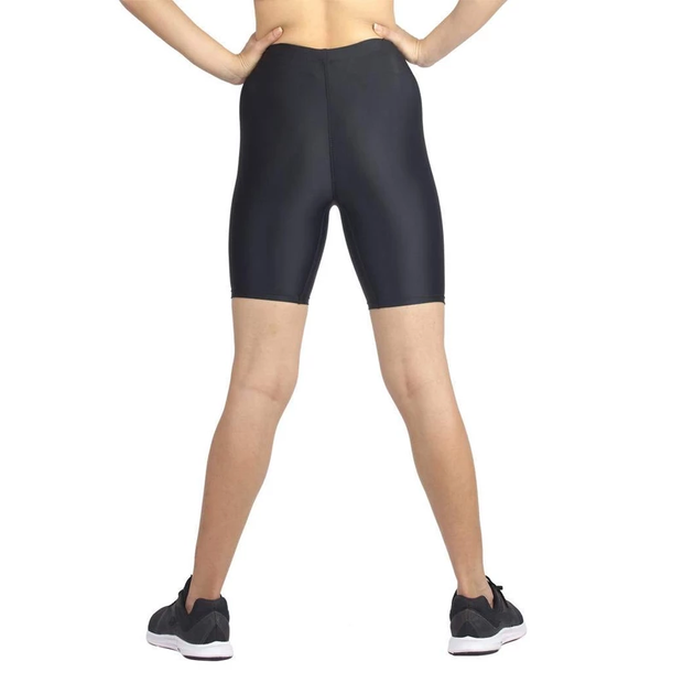 Champ Poly Spandex Unisex Multisport Wear - Cycling Shorts Black
