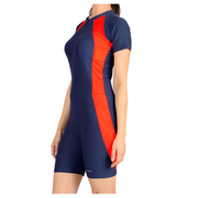 Champ Unisex Multisport Wear - Skating/Cycling/Swimming Suit Blue