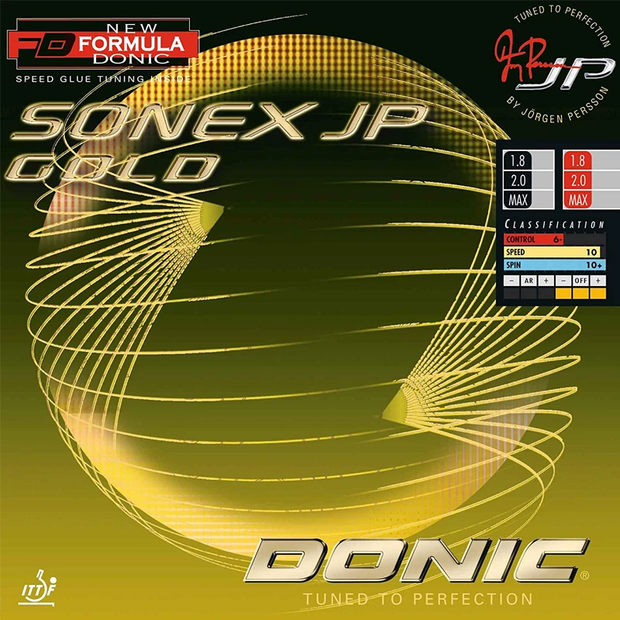 Donic Sonex JP Gold Table Tennis Rubber