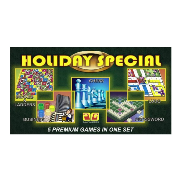 Holiday Special 5 in 1 Game Set