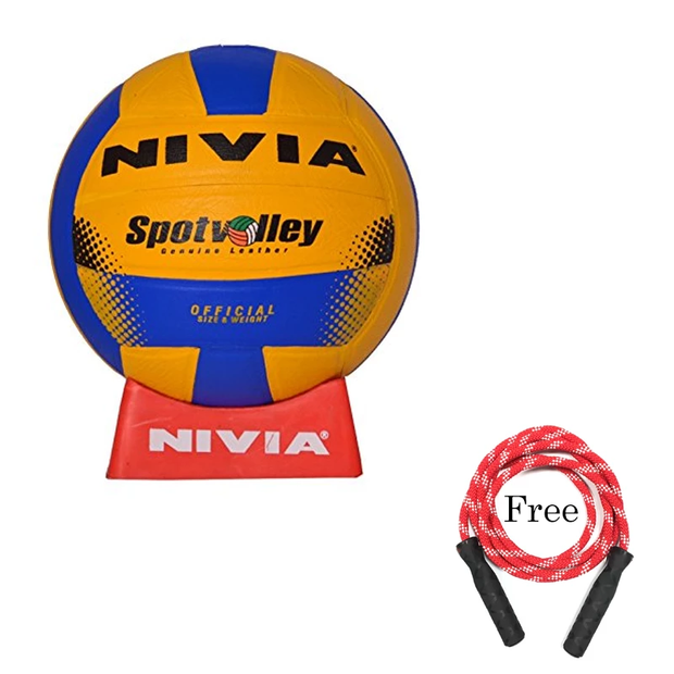 Nivia Moulded Spot Size 4 Volley Ball