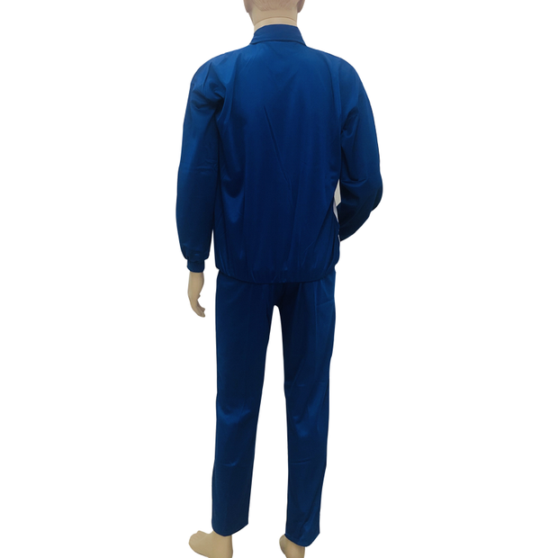 Super Poly Fabric Tracksuit Royal Blue
