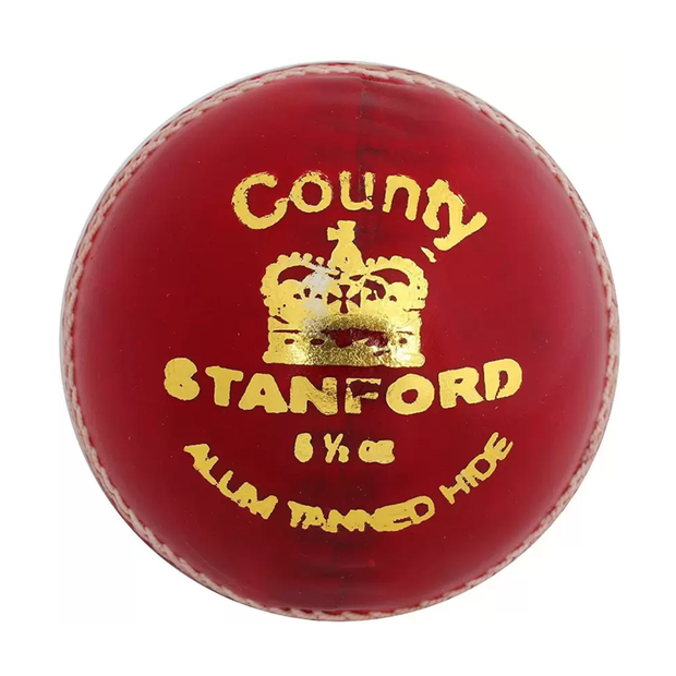 SF Cricket County Leather Ball