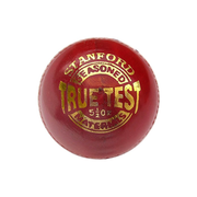 SF Cricket True Test Leather Ball - Pack of 6