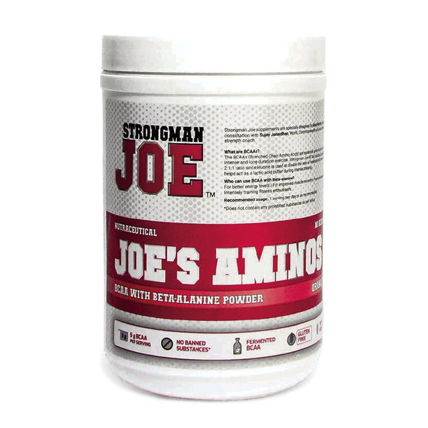 STRONGMAN JOE'S Aminos 250gm Orange