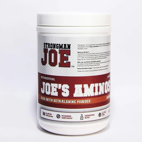 STRONGMAN JOE'S  Aminos 500gm Orange