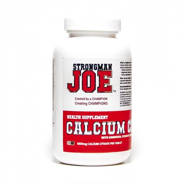 STRONGMAN JOE'S Calcium Citrate 120 Caps