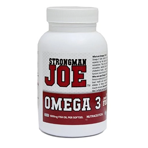 STRONGMAN JOE'S Omega 3 - 60 Softgels