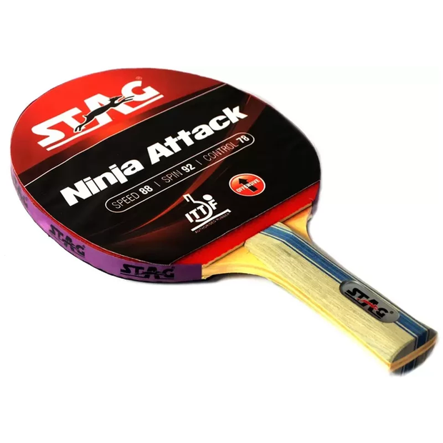 Stag Ninja Attack Table Tennis Racket