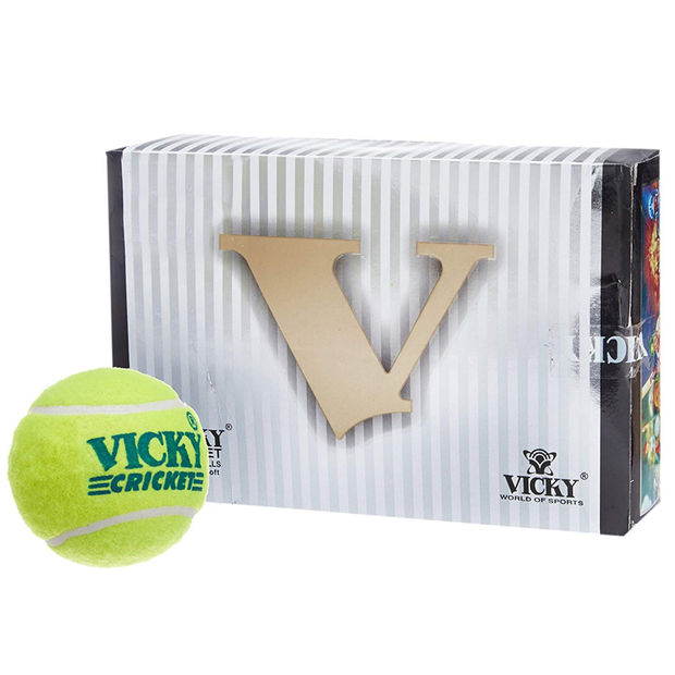 Vicky Cricket Tennis Ball